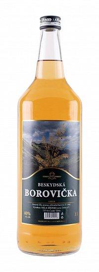 Fotografie produktu: BESKYDSKÁ BOROVIČKA Gold 1 L
