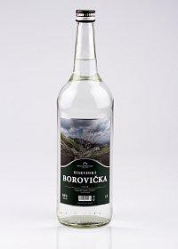 Fotografie produktu: BESKYDSKÁ BOROVIČKA Silver 1L