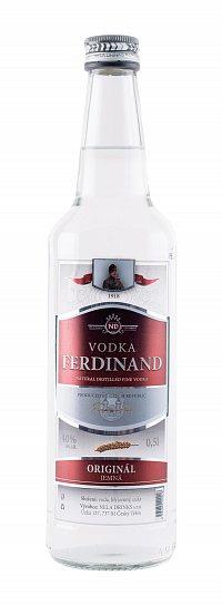 Fotografie produktu: VODKA FERDINAND 0,5 L