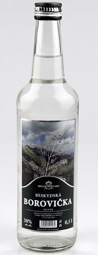 Fotografie produktu: BESKYDSKÁ BOROVIČKA Silver 0,5 L